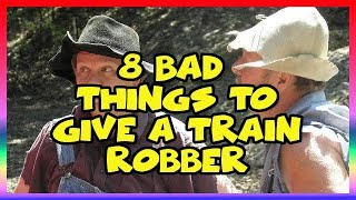 8 Bad Things to Give a Train Robber- Ep 11 Confessions of a Theme Park Worker- Silver Dollar City