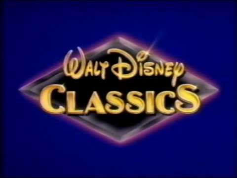 Walt disney classics vhs logo youtube for Classic house 1992