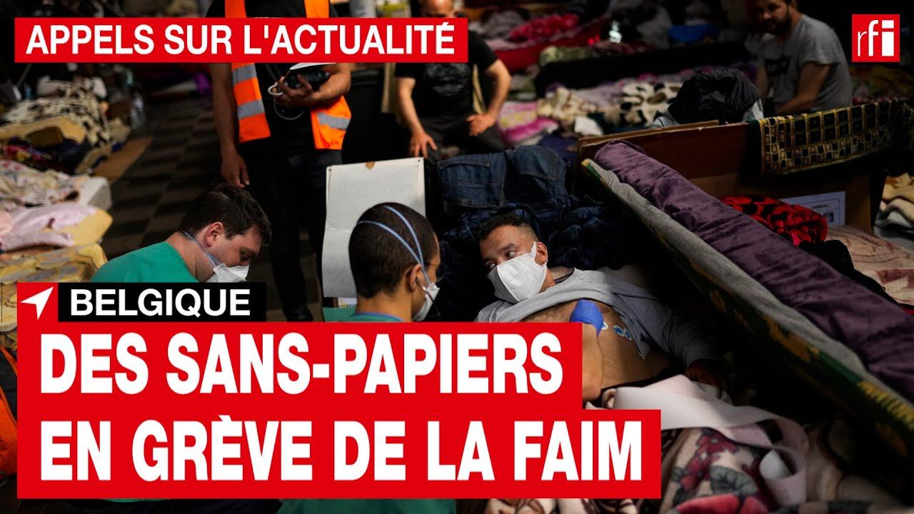 50 dias de greve de fome: a tentativa desesperada de migrantes em busca de legalização na Bélgica - 11/07/2021 - UOL Notícias