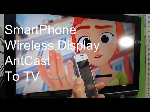 How to Setup Anycast mirror screen Android Iphone Mobile Phone video sharing Display to HD TV