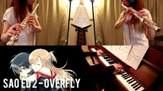 Overfly - SAO ED2 (piano and flute cover)