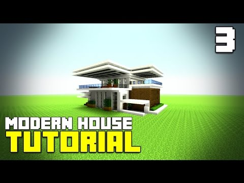 MINECRAFT How To build A Modern House Best Modern House 2016