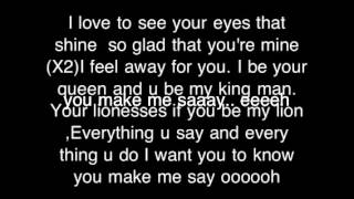 Make me say by KIMIE( Lyrics on screen )
