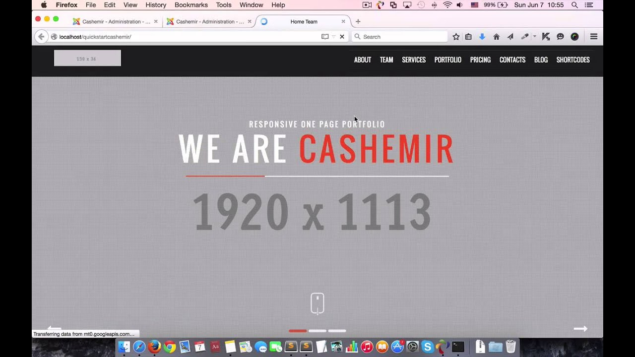 Cashemir Template Version 2 Update with Azura Page Builder - YouTube