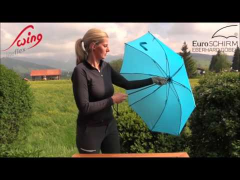 Euroschirm Light Trek Umbrella New EuroSCHIRM Swing Liteflex Trekking Umbrella Campmor YouTube