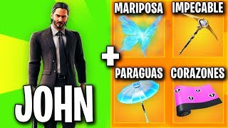 THE BEST SKIN COMBINATIONS WITH JOHN WICK 🔥 THE BEST FORTNITE SKIN COMBOS