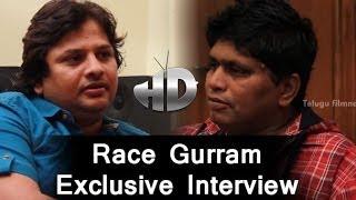 Race Gurram Exclusive Interview | Surender Reddy with Roller Raghu
