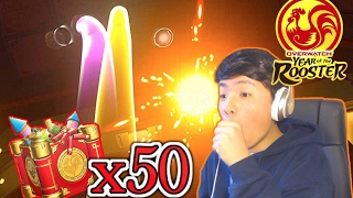 OPENING 50 LUNAR NEW YEAR LOOT BOXES! | Overwatch