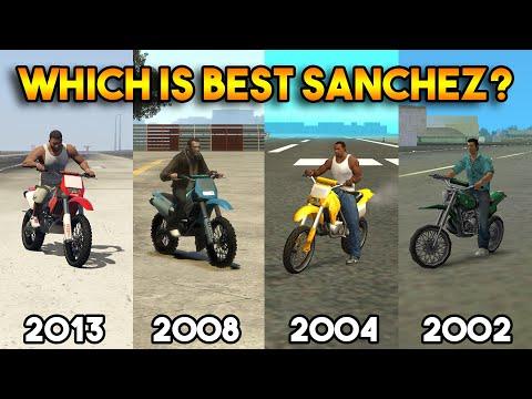 GTA : WHICH IS BEST SANCHEZ EVERY GTA? (GTA 5, 4, SAN, VC)