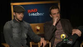 BAD TEACHER: Justin Timberlake  Jason Segel discuss 'sexy' teachers