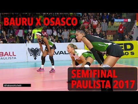 Bauru x Osasco - Semifinal - Campeonato Paulista de Vôlei Feminino 2017