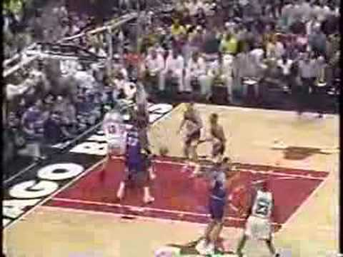 Michael Jordan game-winner: Bulls vs Jazz, 1997 Finals: Game 1