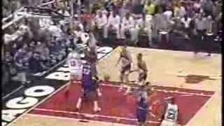 Michael Jordan game-winner: Bulls vs Jazz, 1997 Finals: Game 1