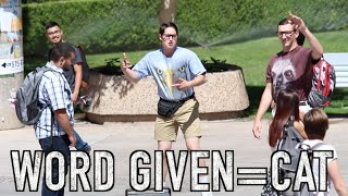 NERDS FREESTYLE AT COLLEGE!!