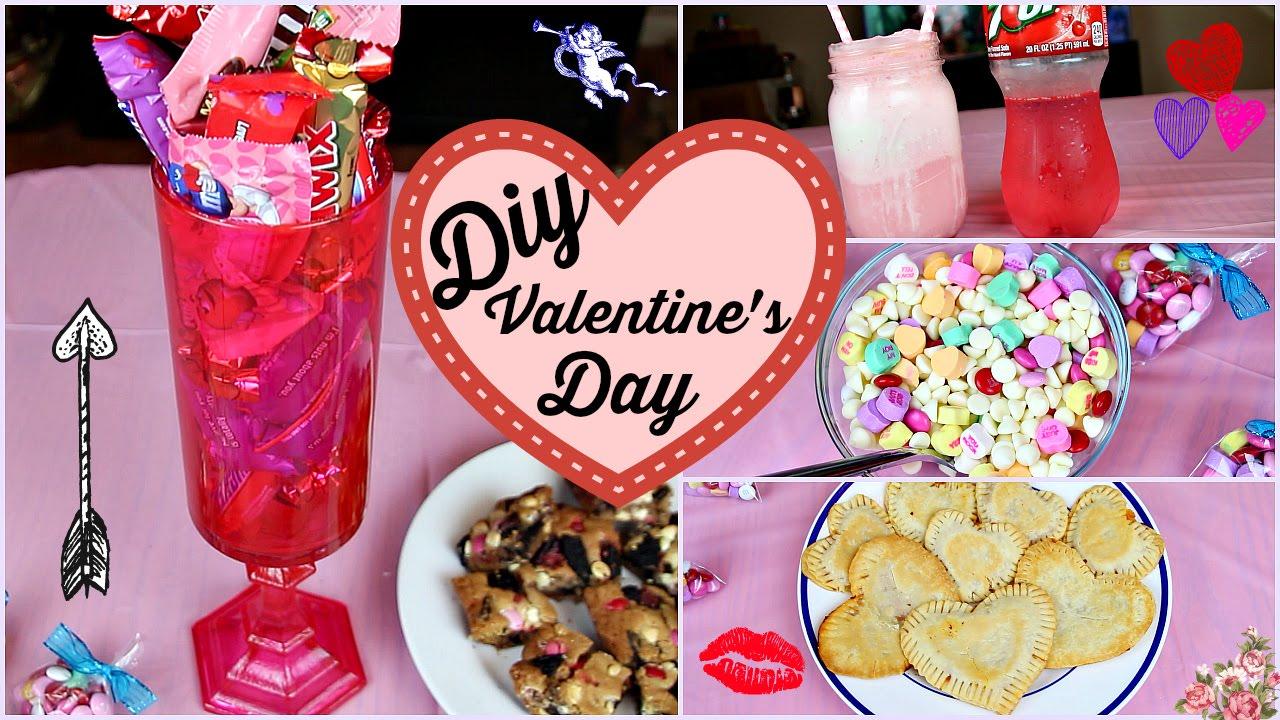 DIY Valentineu0027s Day Candy Jar, Treats U0026 Snacks!   YouTube