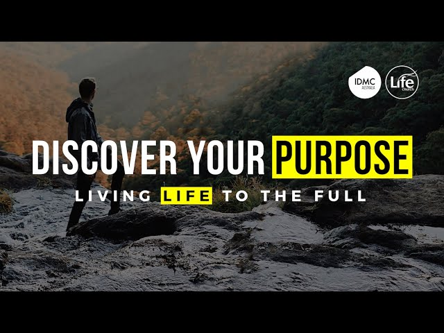 Three Keys to Ultimate Purpose | Rev Paul Jeyachandran