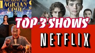 I reveal my top 3 shows of this month: The Magician's code The Retu...