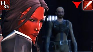 SWTOR Sith Warrior [Dark Female] - Prologue (Korriban - 02) Judge & Executioner