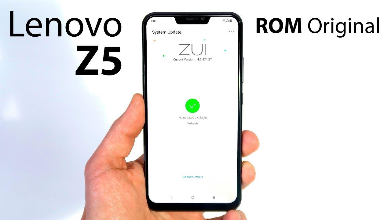 ROM Original en el Lenovo Z5 ¿Vale ahora la PENA?