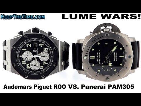 LUME WARS! #5 | AUDEMARS PIGUET ROO VS PANERAI SUBMERSIBLE