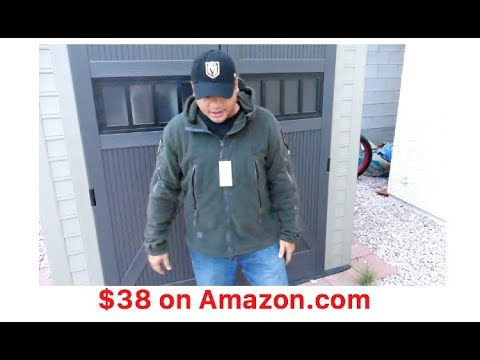 Tactical Fleece Jacket for only $38 on Amazon [poormans TAD gear Ranger hoodie]