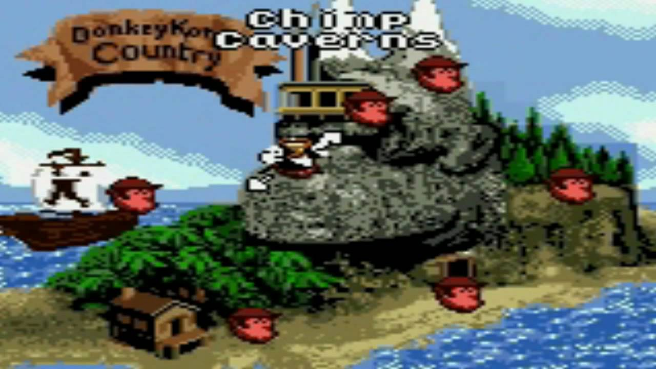 Donkey Kong Country [GBC]   World Map   YouTube
