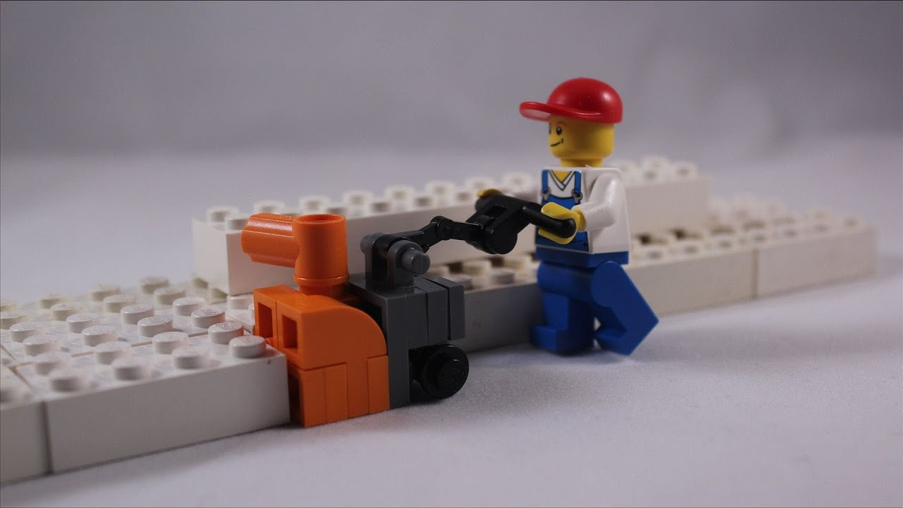 LEGO Tutorial: How to Build a Snow Blower - YouTube