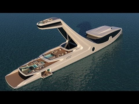Así planea este diseñador que sea el yate más lujoso del mundo