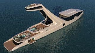 Gabriele Teruzzi's Shaddai superyacht concept