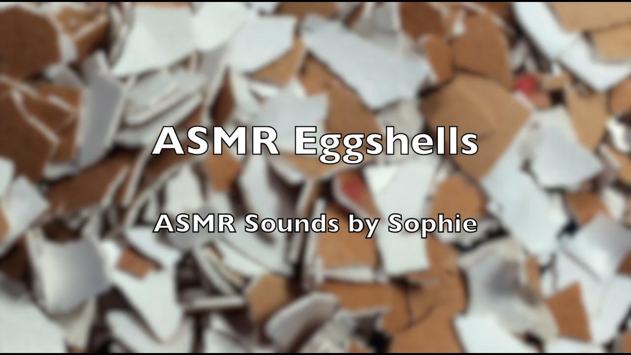 Asmr Eggshells Asmr Soothing Sounds Relaxing Youtube Video