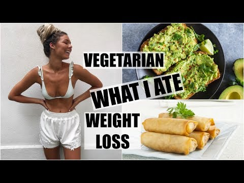 Weight Loss + Nutrition Facts! // Vegetarian What I Ate