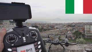 Drone economico con FPV : Recensione ita JXD 509