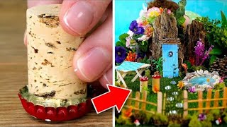 13 Cute DIY Miniature Garden Ideas