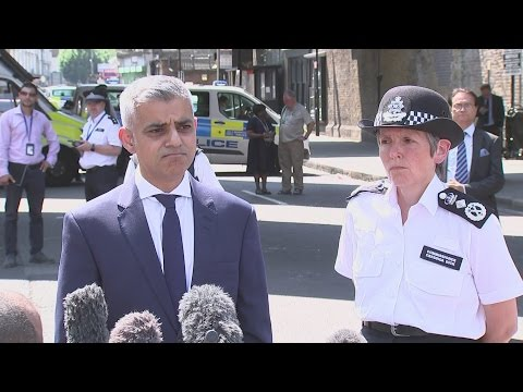 Finsbury Park attack: We will stay strong, says Sadiq Khan