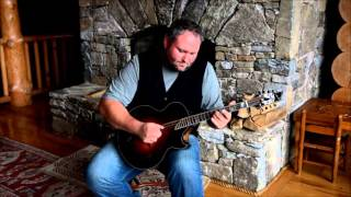 Darren Nicholson plays Ashokan Farewell on his Big Dog Octave mandolin