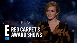 Emily Blunt Gushes Over Working With Hubby John Krasinski | E! Live from the Red Carpet