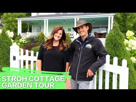 Stroh Cottage Garden Tour w. Jack Barnwell // Garden Answer