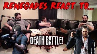 Renegades React To... Death Battle - Leon Kennedy Vs. Frank West