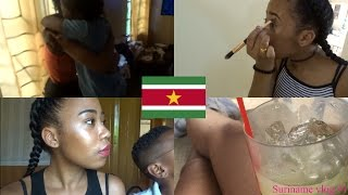 FAMILIE VERRASSEN EN MAKE UP TUTORIAL IN SURINAME #1