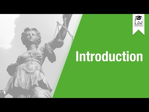 Property Law - Introduction
