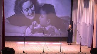 Дети войны. Фрагмент выступления «Не стареют душой ветераны» СП«Уег».