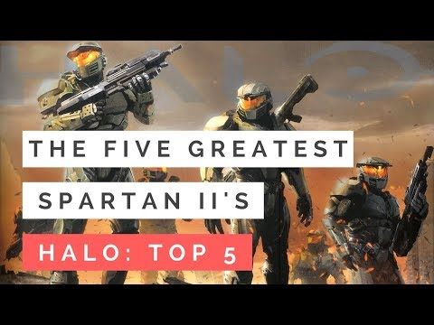 The Five Greatest Spartan II's in Halo History | Halo Lore Top 5