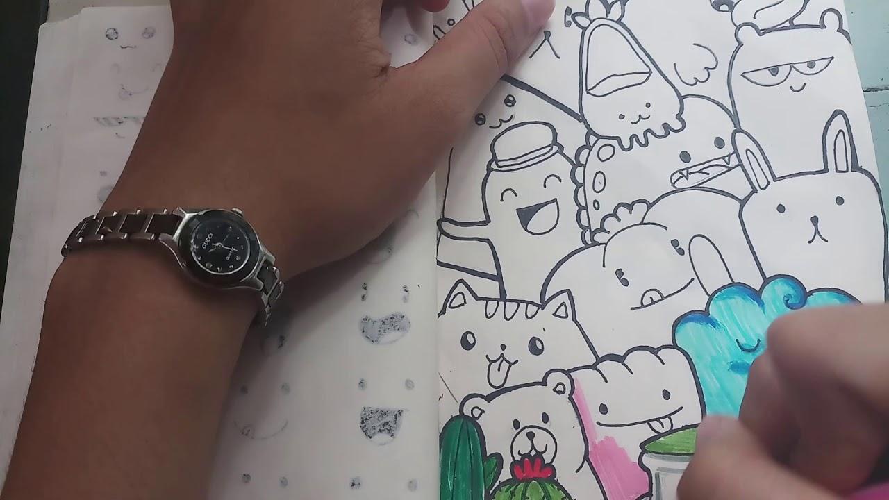 Vẽ DOODLE.1 | PAINTING DOODLE