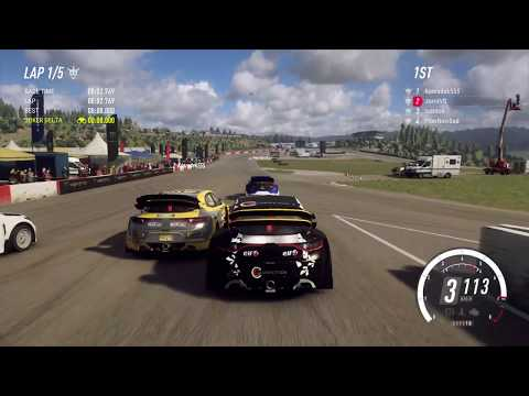DiRT Rally 2.0 - Online Rallycross At Hell (Quali / GCK Megane RS RX / Gameplay)