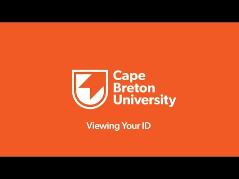 How-to-CBU: Viewing Your ID