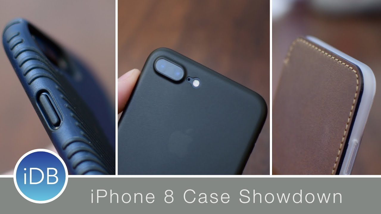 quality design 159b3 68e37 iPhone 8 & 8 Plus Case Showdown - Dozens of Cases from Nomad, Casemate,  Spigen, MNML, & More