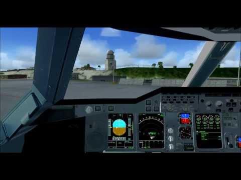 Vol commenté N°7: Saint-Martin Princess Juliana airport vol local en A380 (spécial 100 abonnés)