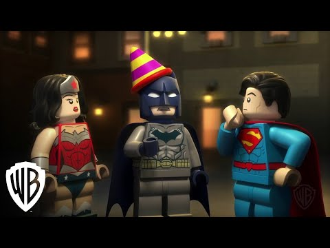 Batman's Birthday clip - LEGO DC Comics Super Heroes - Justice League: Gotham City Breakout