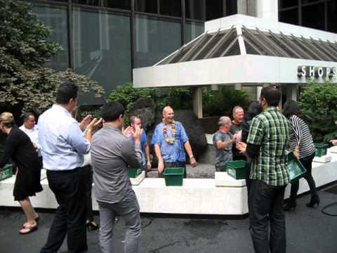 Vancouver Corporate Office ALS #IceBucketChallenge