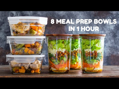 8 Strategies For Prepping Healthy Meals ahead of time
